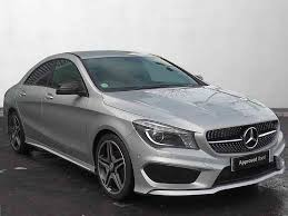 used mercedes cla used mercedes benz cla class saloon petrol in polar silver from