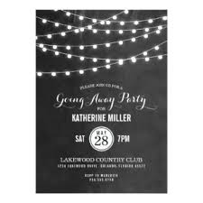 going away party invitations going away party invitations announcements zazzle