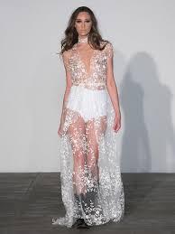 sexiest wedding dress wedding dresses that rocked the runways