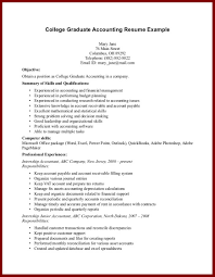resume examples college student 15 good resume examples for college students sendletters info resume example college graduate accounting resume example page 1