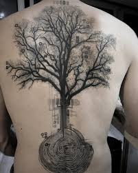 100 awesome back ideas forest tattoos and tatoos