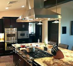 kitchen island vent kitchen island exhaust fan enchanting stove vent kitchen