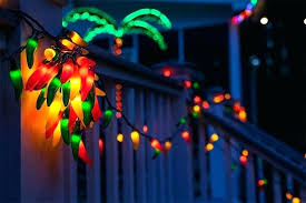 Chili Pepper Outdoor Lights Pepper Lights String Lovely Chili For Carnival Display Target