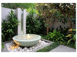 modern water features modern water features for small gardens home dignity and feature