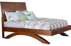 Cherry Wood Sleigh Bed Dark Wood Full Beds Cherry Espresso Mahogany Brown Etc