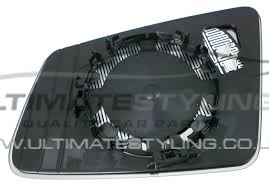 mercedes c class wing mirror wing mirror glass drivers side rh heated aspherical