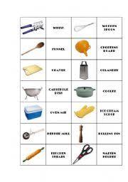 Kitchen Utensils And Tools by English Teaching Worksheets Kitchen Utensils Equipment