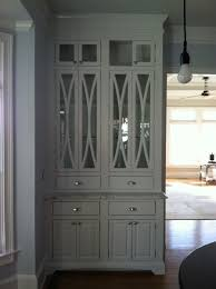 hand made china cabinet with elliptical door mullions by custom made china cabinet with elliptical door mullions