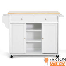 belmont white kitchen island beautiful baxton studio maryland