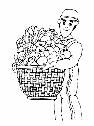 farmer coloring pages coloring home