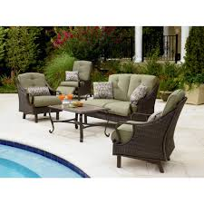 Patio Dining Sets For 4 by La Z Boy Peyton 4 Pc Seating Set Sears