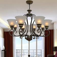 compare prices on vintage wrought iron chandelier lamp online