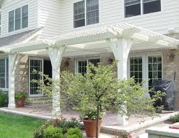 extraordinary trellis attached to house tags attached pergola