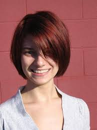 short hairstyles with side swept bangs for women over 50 short haircuts with bangs side swept choppy straight across