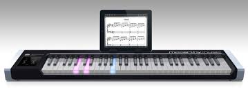 piano with light up keys new illuminating piano works with ipad or windows to light the way