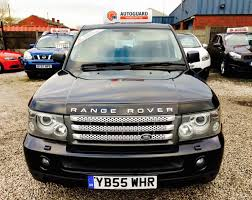 black land rover range rover land rover range rover sport tdv6 hse for sale from walmersley