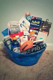 cool gift baskets cool gift idea for an athlete dorms athlete gift