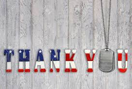 Military Flag Frame Military Dog Tags With Patriotic Flag Thank You On Wood Stock