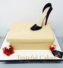 tasteful cakes by christina georgiou christian louboutin shoe cake