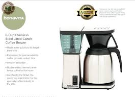 Bonavita 8 Cup Coffee Maker With Thermal Carafe The Best Value For
