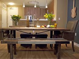 Diy Dining Room Tables Picnic Tables Used As Dining Room Table Style Best Diy Ideas On