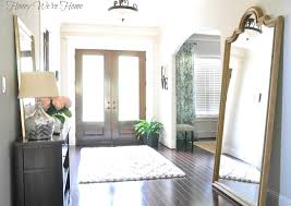 White Foyer Table by Ways To Define Your Spaces With Area Rugs For Foyer Editeestrela
