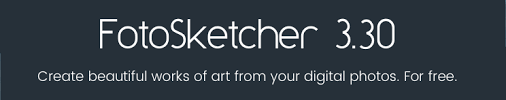 fotosketcher the 100 free program to turn photos to paintings
