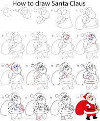 25 unique santa claus drawing ideas on pinterest santa clause