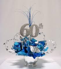 60th anniversary decorations 60th milestone centerpiece pinteres