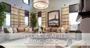 Before And After Living Rooms by Hamptons Inspired Luxury Living Room Before And After San Diego