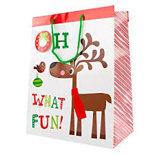 christmas gift bag christmas gift bag oh what large bag co uk office
