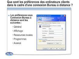 connexion bureau à distance module 1 préparation de l administration d un serveur ppt
