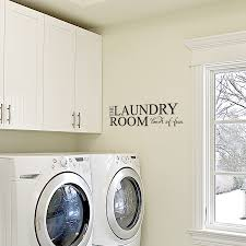 laundry room loads fun wall art decals