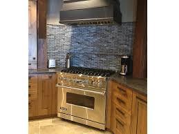 slate kitchen backsplash slate and glass tile backsplash home decorating interior design