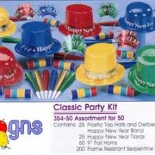 new years kits new year party kits 3 gns party rentals