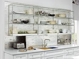 kitchen cute kitchen open shelving and cabinets 1428002392
