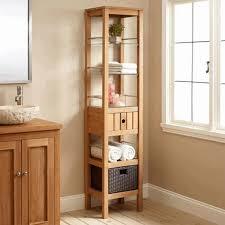 Wooden Bathroom Storage Cabinets Bathroom Storage Cabinet Elegance Oval White Ceramic Free Standing