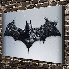 dc batman paintings hd print on canvas home decor wall art