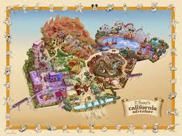 map of california adventure disney california adventure map disney maps brochures