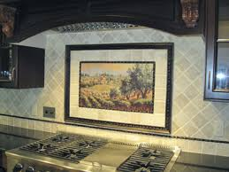 kitchen backsplash backsplash murals glass subway tile