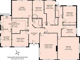 4 br house plans 4 bedroom bungalow floor plans homes zone