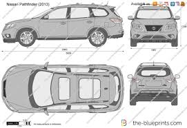 2016 nissan pathfinder the blueprints com vector drawing nissan pathfinder