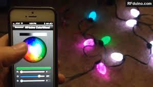 ge led christmas lights rfduino ge g35 christmas lights