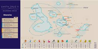 Galapagos Map Galapagos Big 15 The More Iconic Species You See Experience