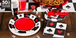 the party supplies place your bets casino theme party supplies party city