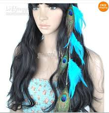 hair feather feather hair extensions with peacock feather blue grizzly sanp