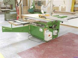 scm si15f circular blade panel sawing machine on auction now at