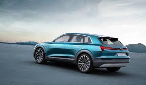 audi e tron quattro suv revealed for frankfurt production model