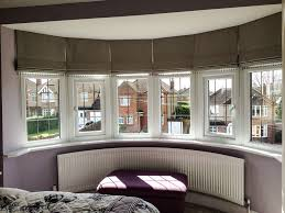 image result for roman shades bay window note how they are
