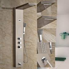 Bathroom Shower Panels by Bath Shower Stall Inspiring Home Design
